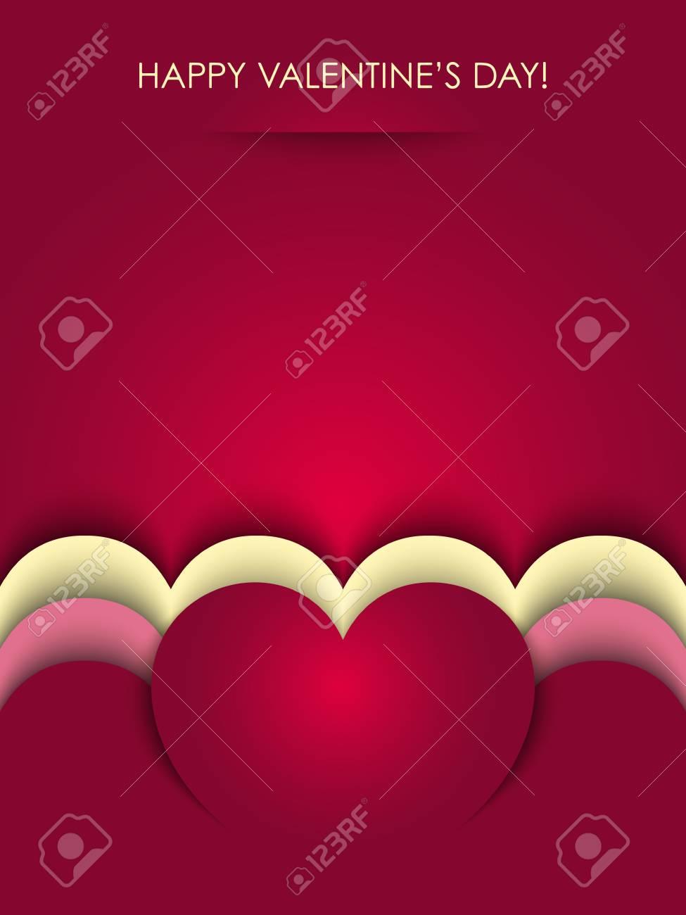 valentines background vector Stock Vector - 17804703