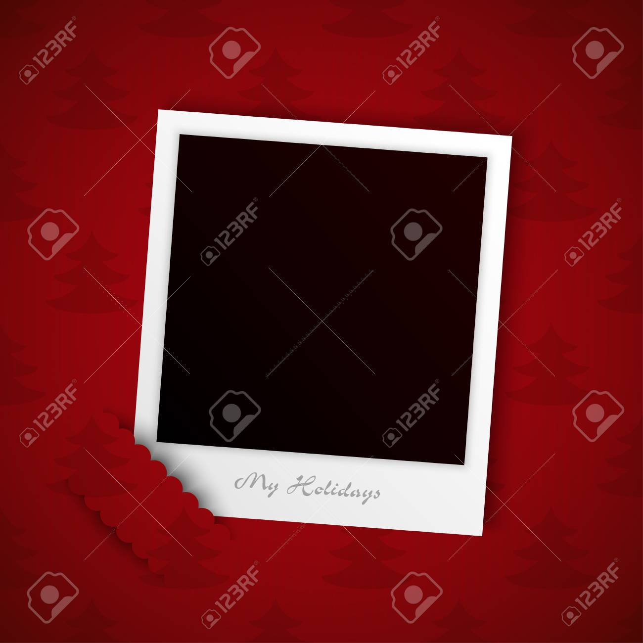 holiday photo background vector Stock Vector - 17948086