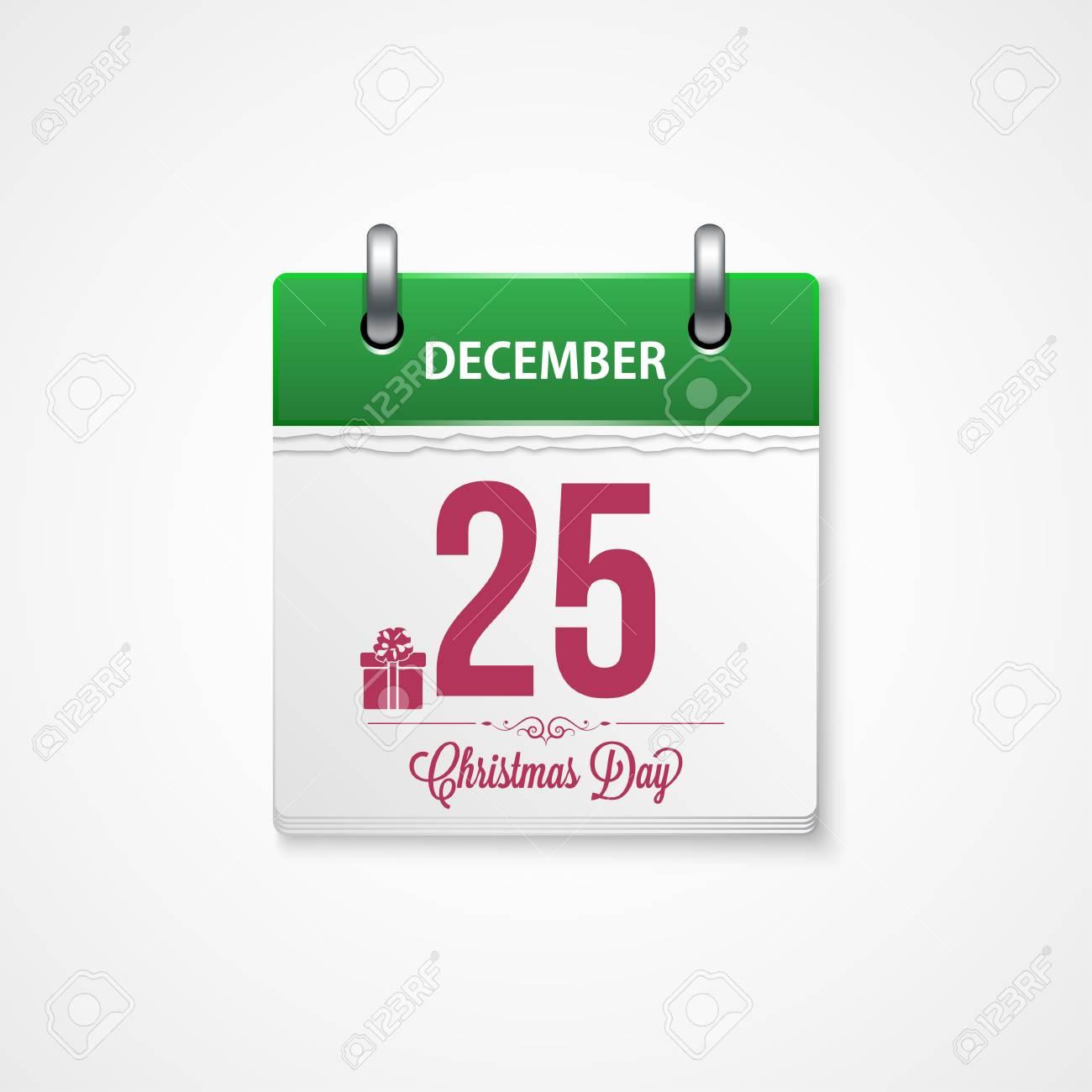 Kalender - Frame Glücklich Frohe Weihnachten Und Neujahr Lizenzfrei ...
