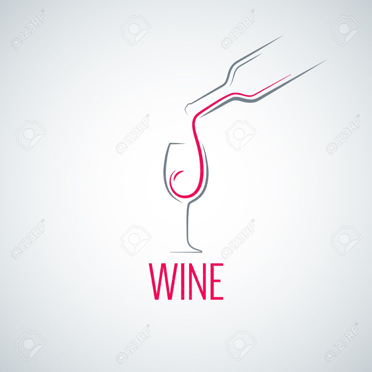 wine glass concept menu background royalty free cliparts, vectors