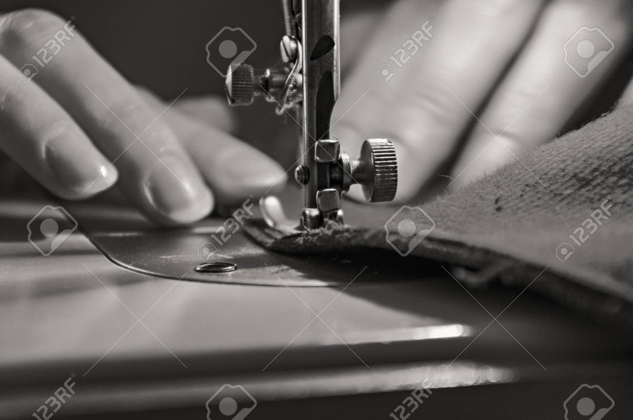 Sewing Process - Women Stock Photo - 20867524