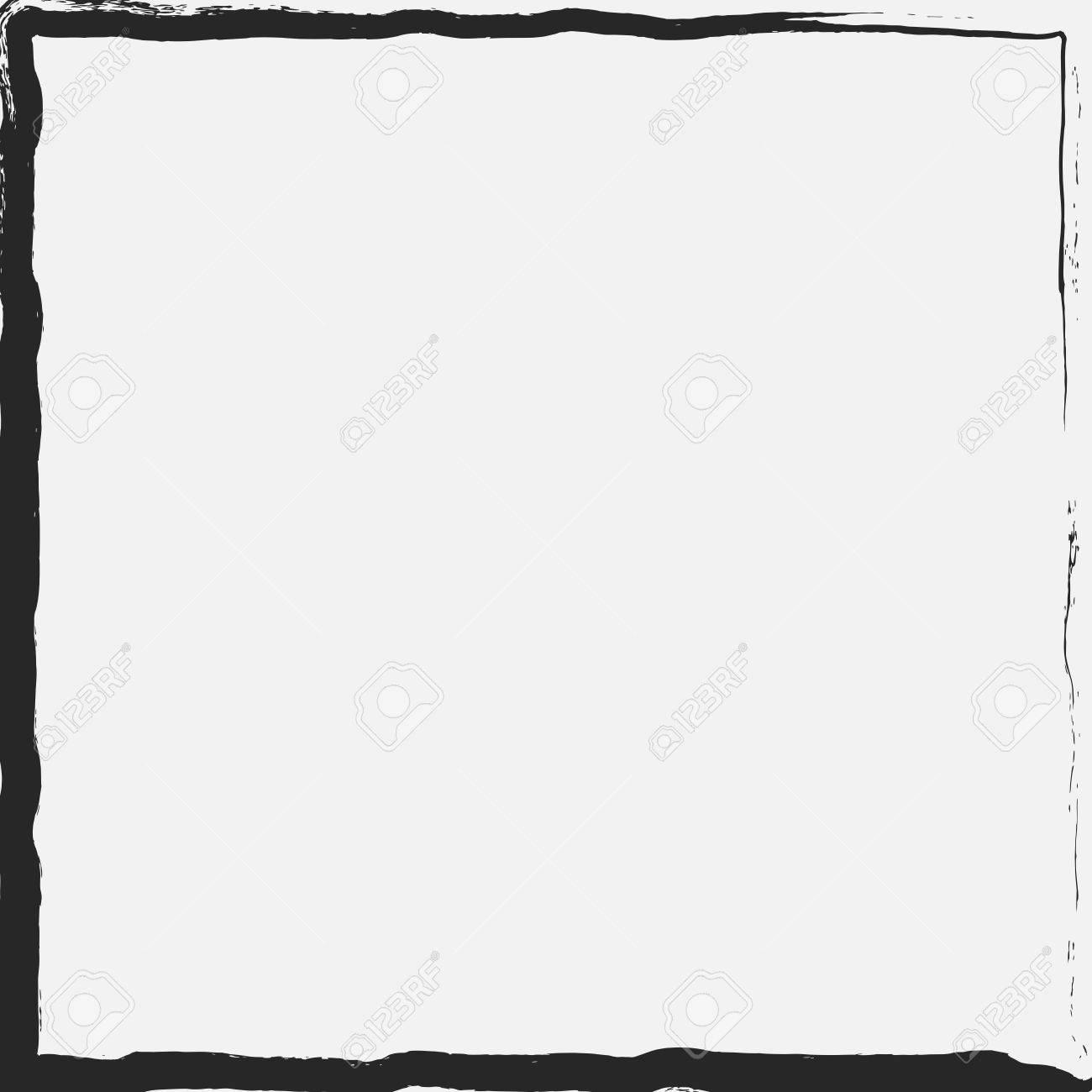 Grunge Textura Marco Para Su Diseño. Vector EPS10. Ilustraciones ...