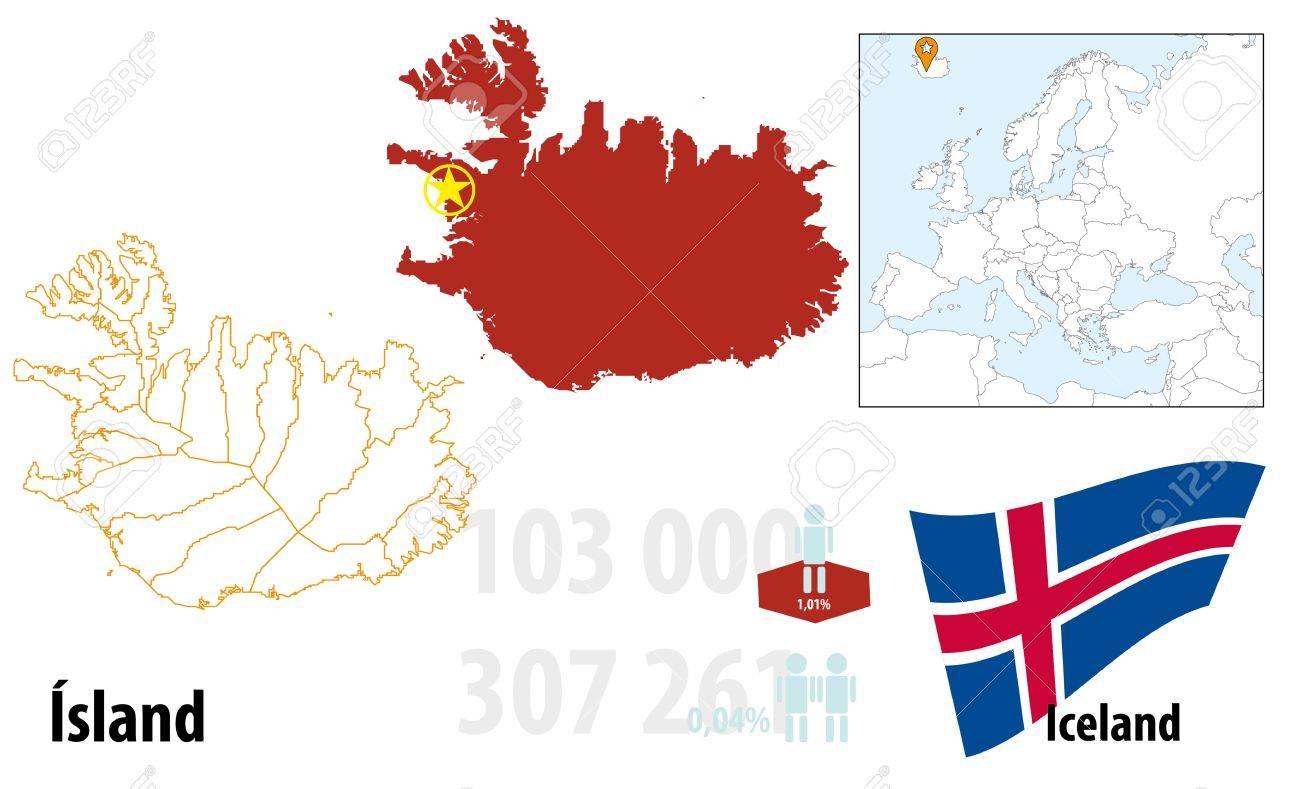 Iceland Stock Vector - 16765406