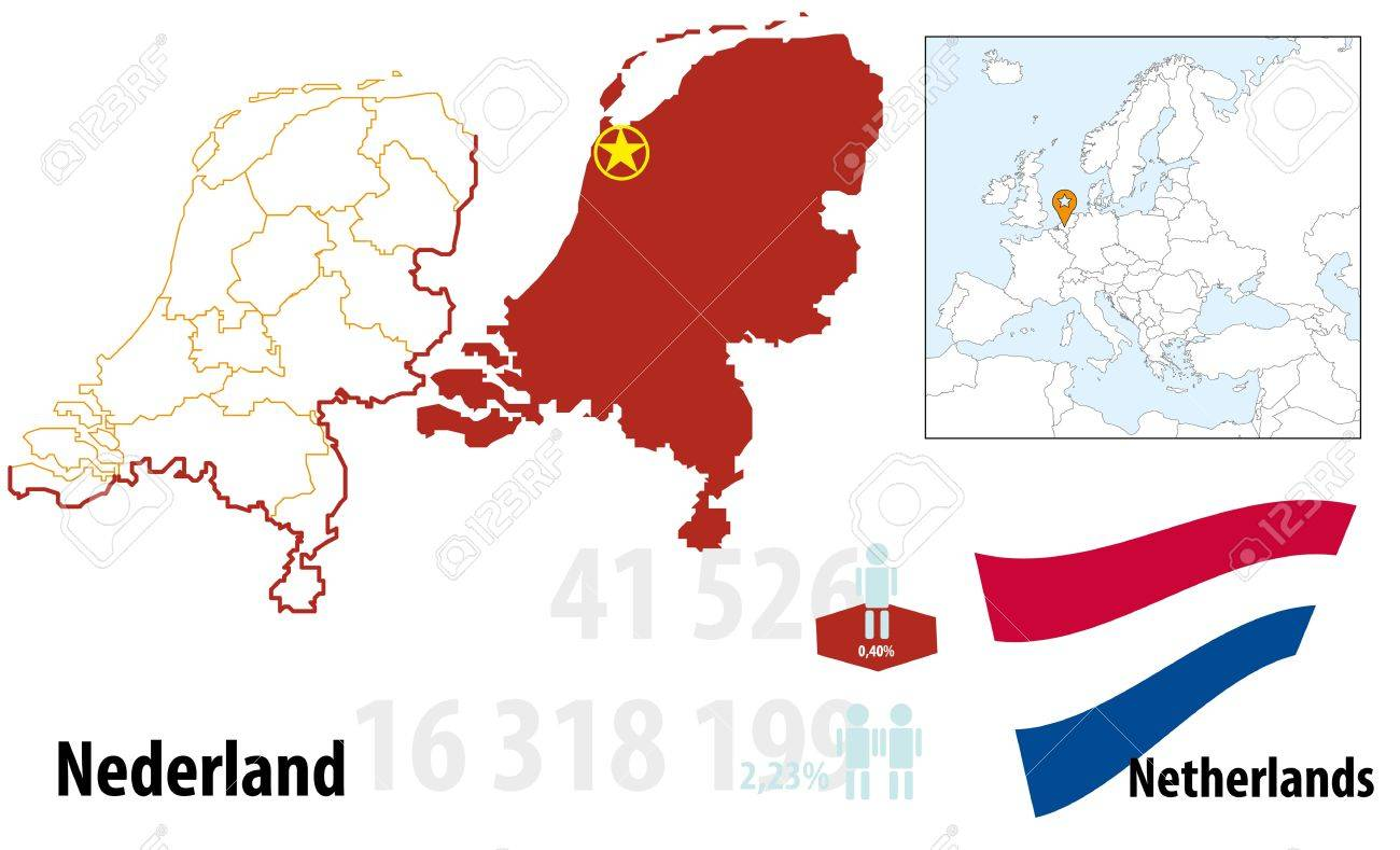 Netherlands Stock Vector - 16765399