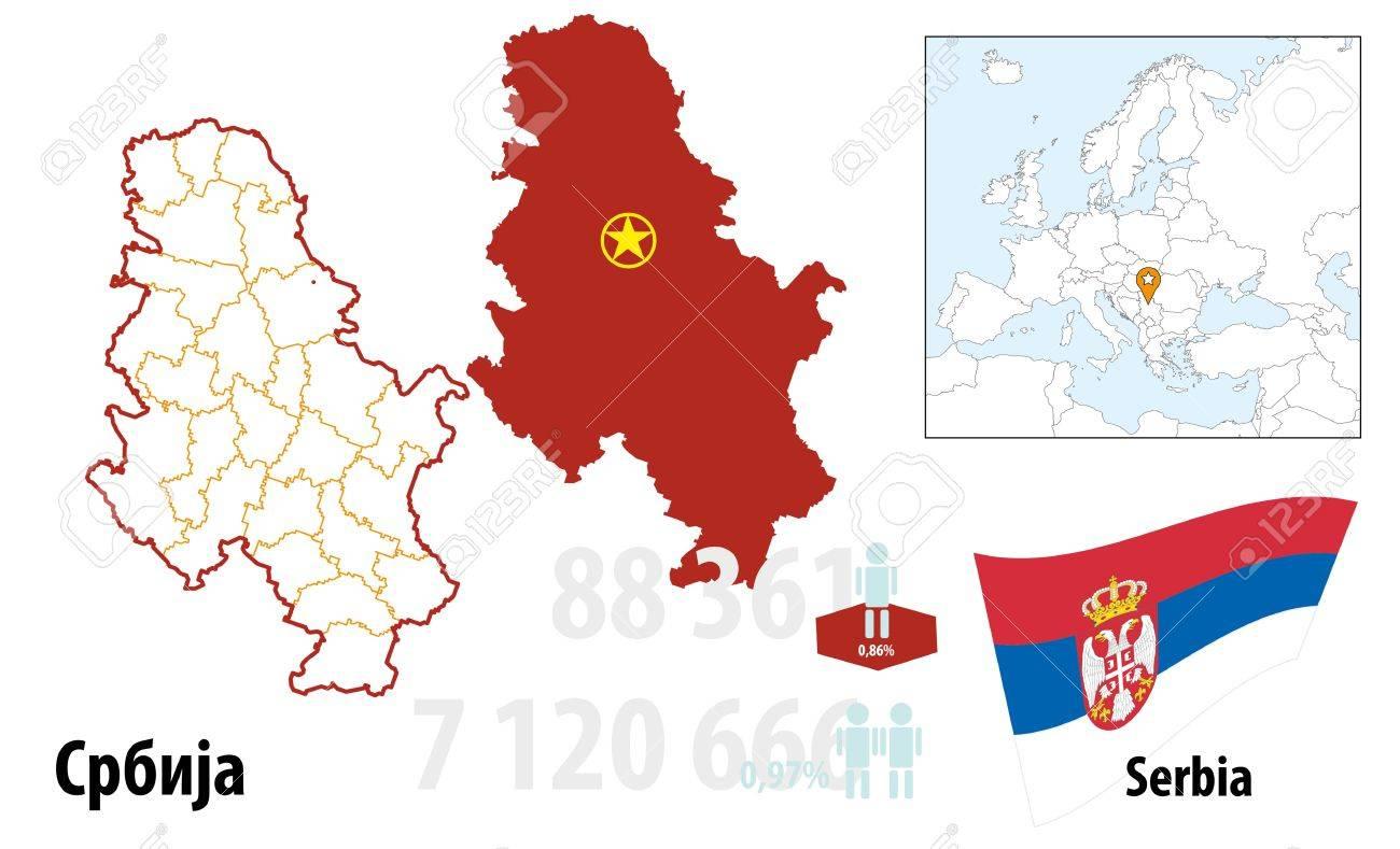 Serbia Stock Vector - 16765433