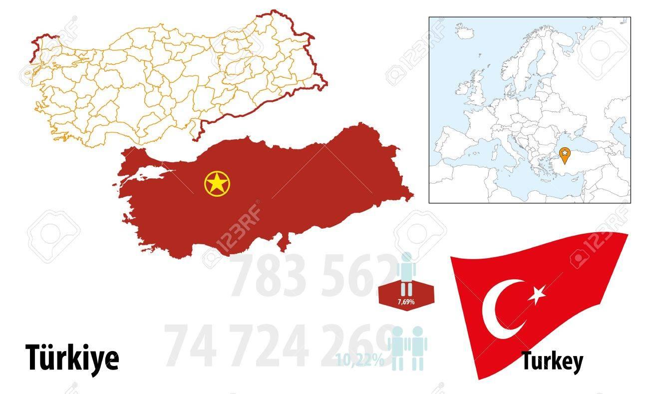 Turkey Stock Vector - 16765420