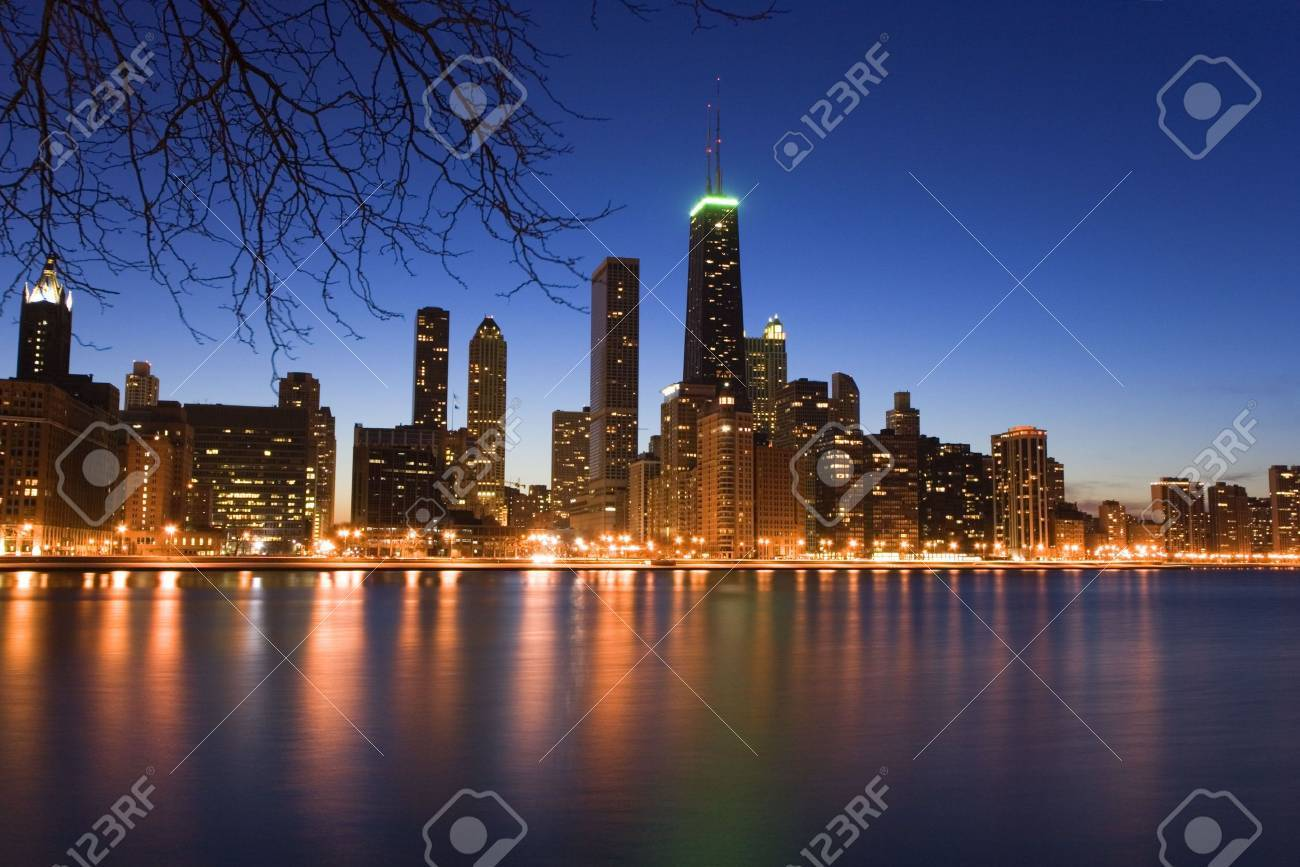 Downtown Chicago Stock Photo - 3789913