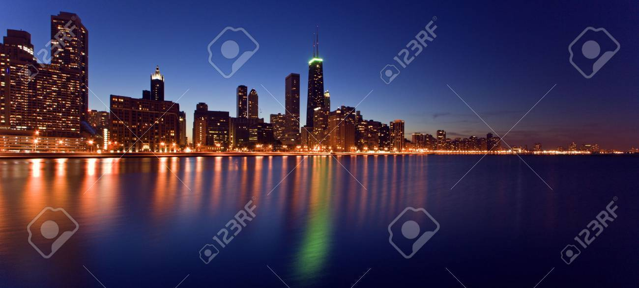 Downtown Chicago Stock Photo - 3789758
