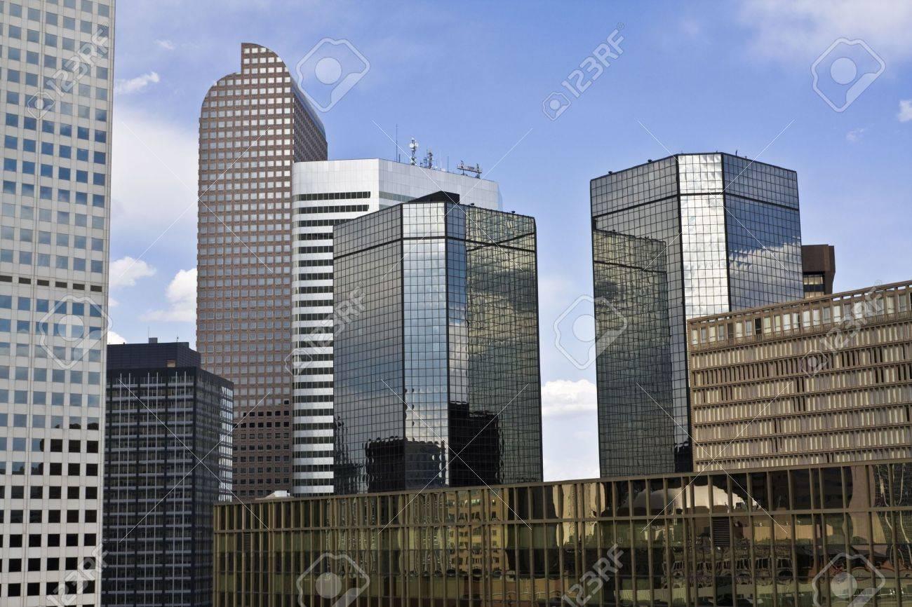 Skyscrapers in Denver, Colorado. Stock Photo - 4073279