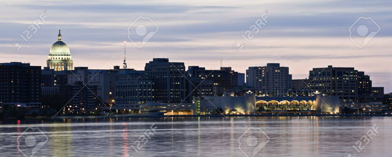 Xxl Panorama Of Madison Wisconsin Stock Photo Picture And Royalty