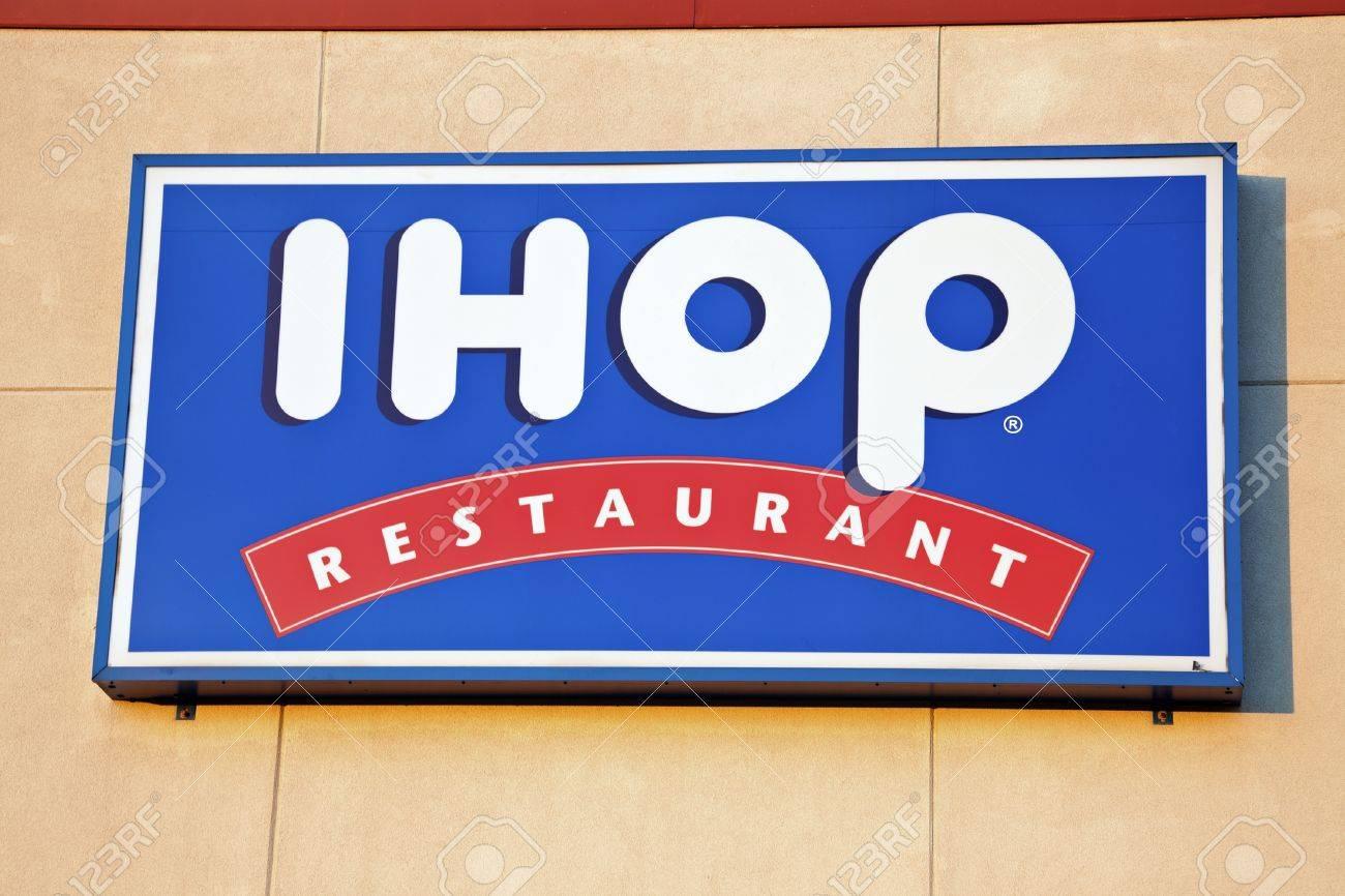 IHOP (The International House Of Pancakes) Restaurant Sign Seen ...