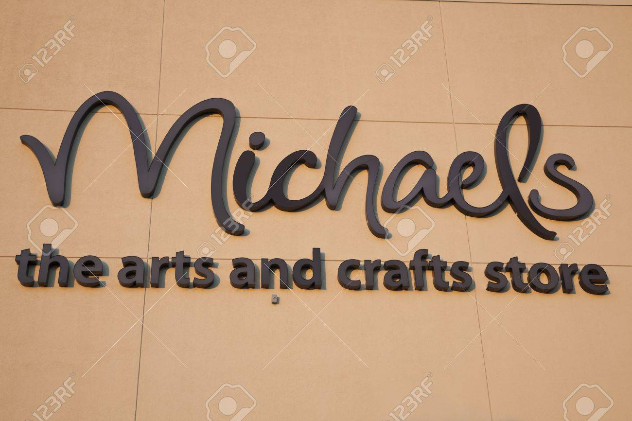 Michael S The Arts And Craft Store The Sign Seen On The Wall