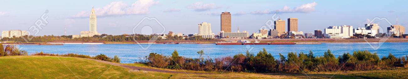 Panoramic Baton Rouge - seen late afternoon - 31490057
