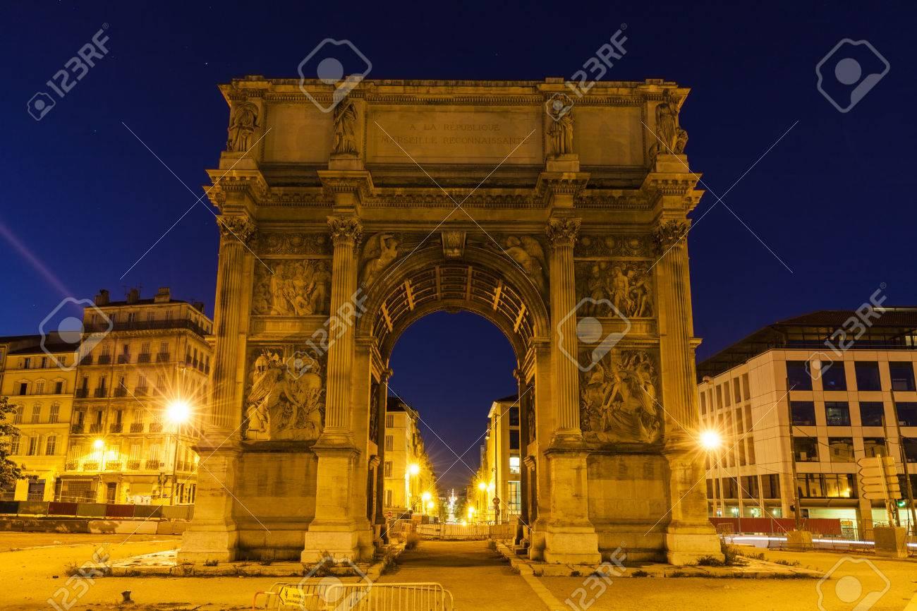 Arc De La Porte D Aix In Marseille Marseille Provence Alpes Cote