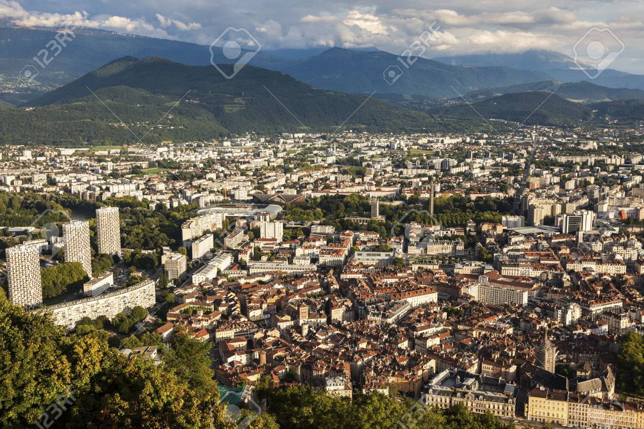 Grenoble architecture aerial view grenoble auvergne rhone alpes grenoble architecture aerial view grenoble auvergne rhone alpes france thecheapjerseys Choice Image
