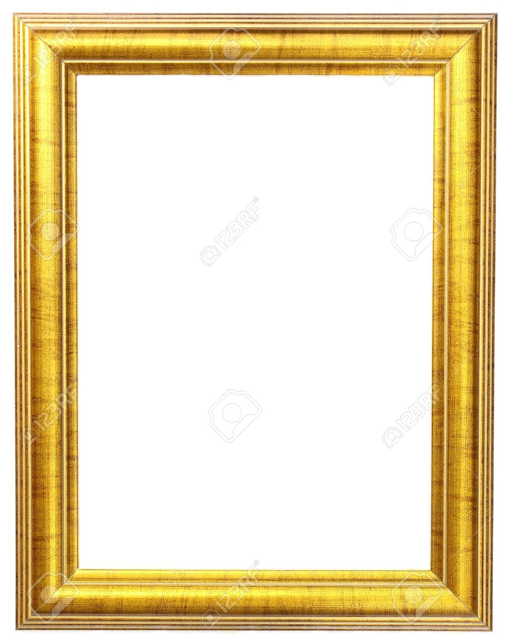 gold picture frame Stock Photo - 9808899
