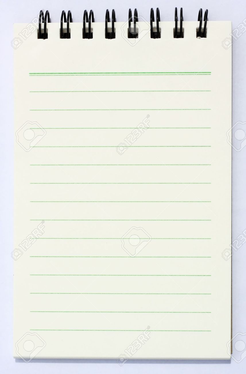 note book Stock Photo - 10011259