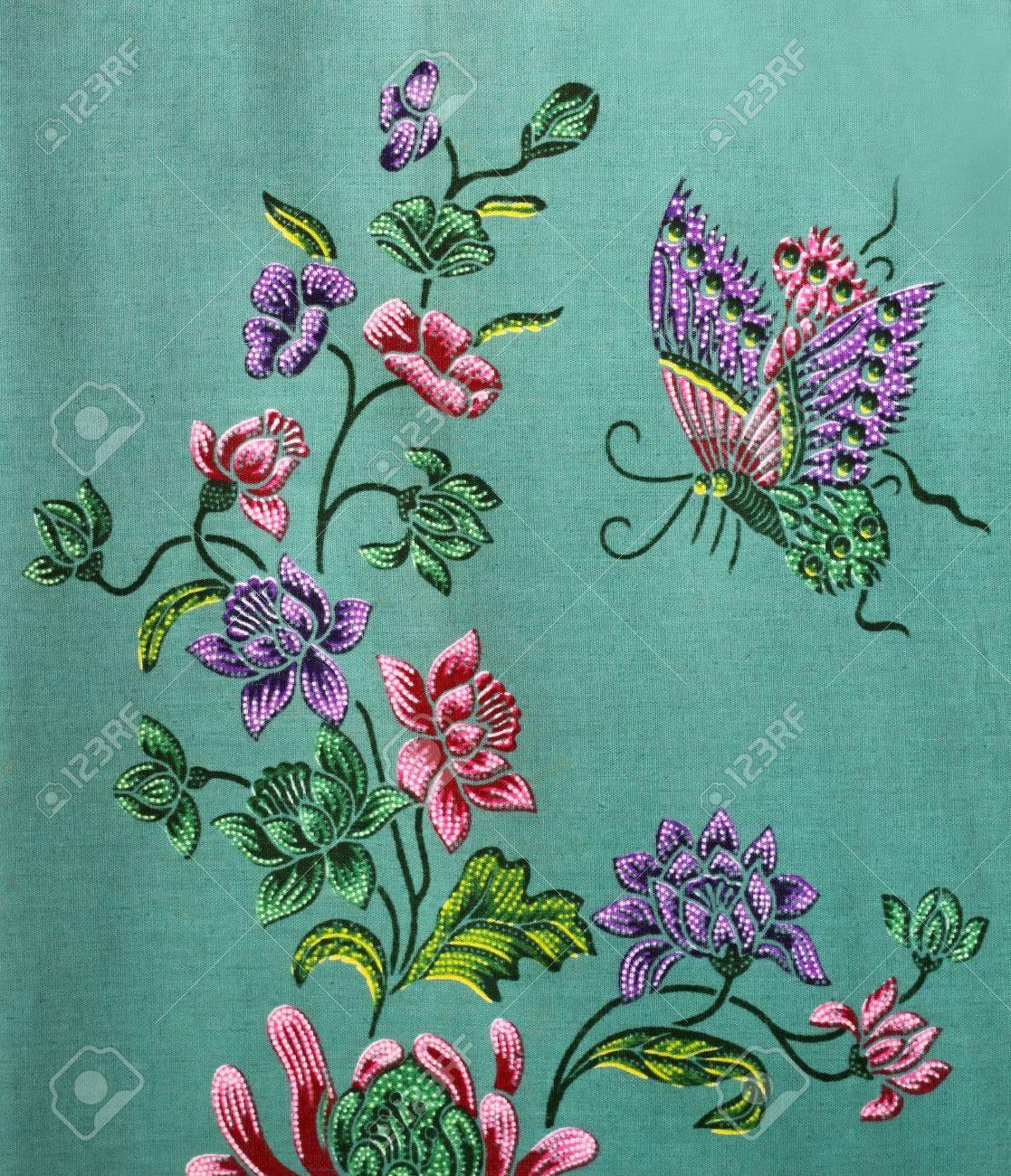 pattern on the thai cloth Stock Photo - 10263029