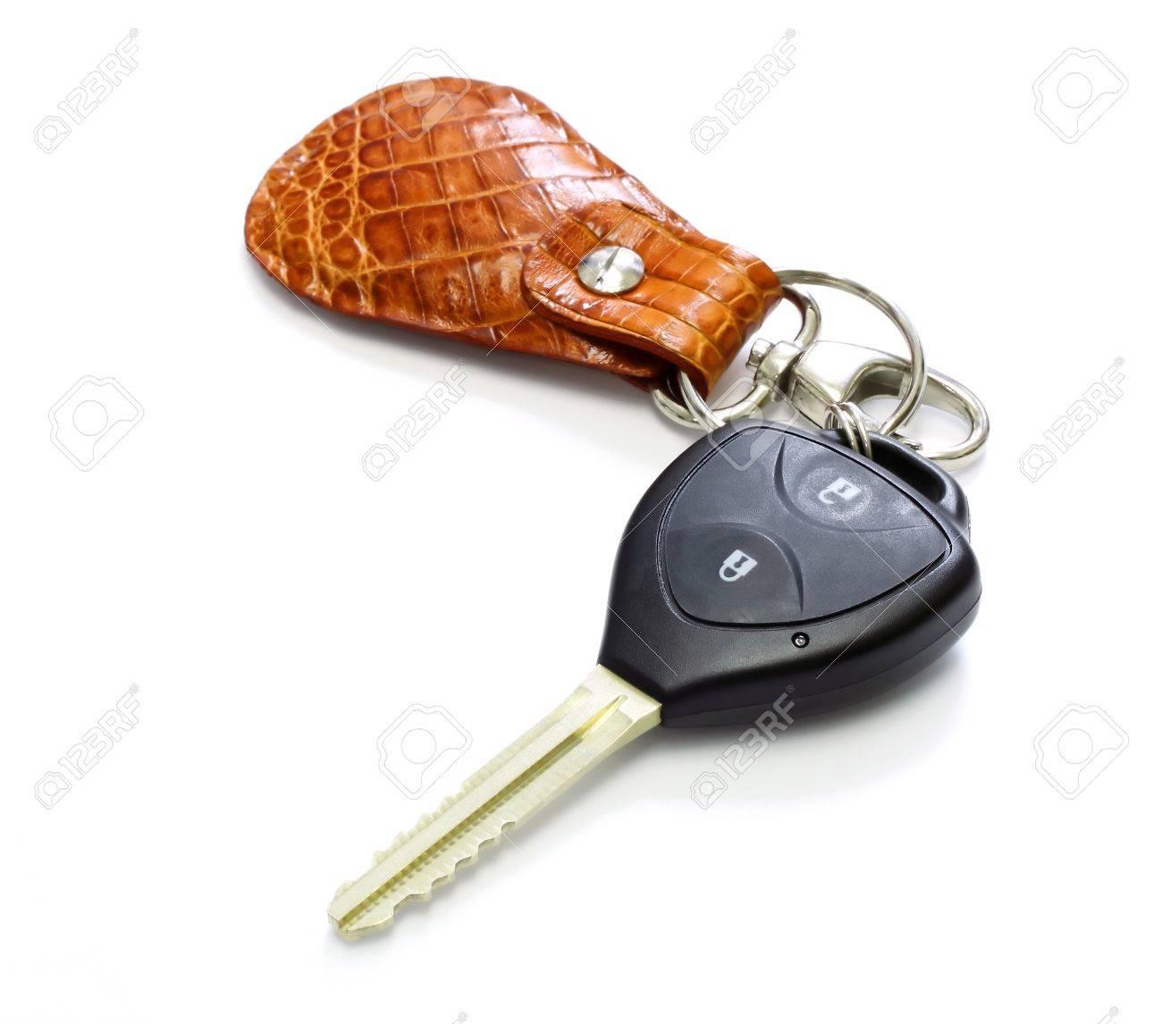 key car with remote , key chain Stock Photo - 10294553