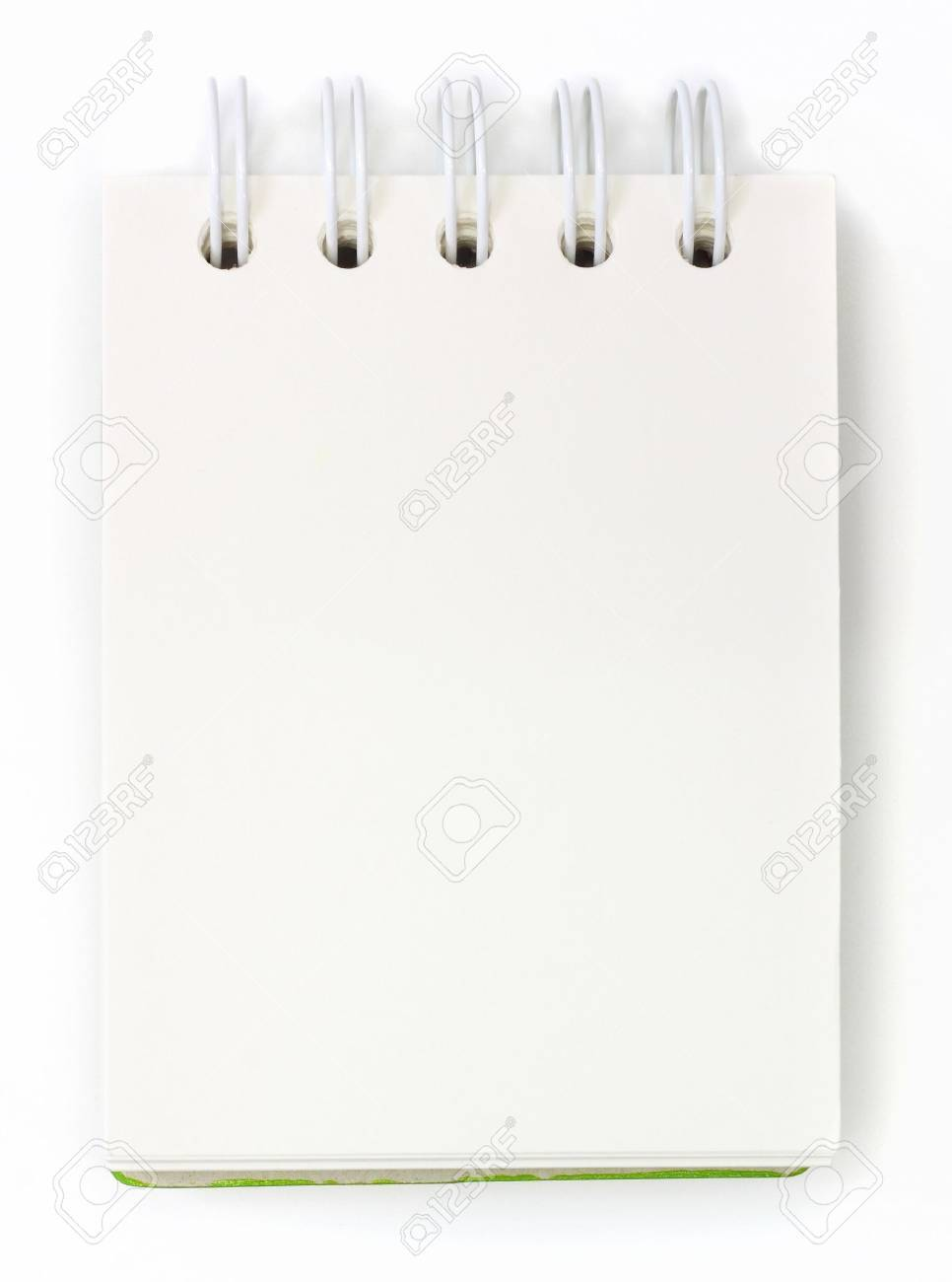 isolated notebook on white . Stock Photo - 10683006