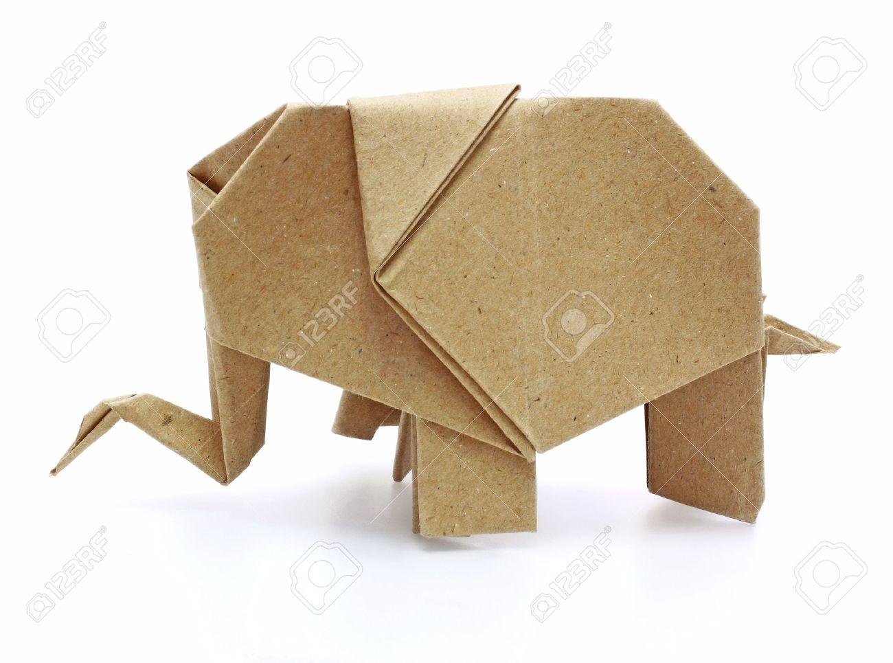 Origami elephant recycle paper stock photo picture and royalty origami elephant recycle paper stock photo 10758841 jeuxipadfo Choice Image