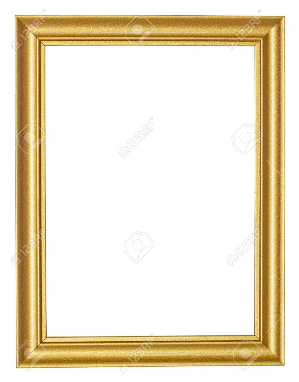 Picture gold frame Stock Photo - 13565438