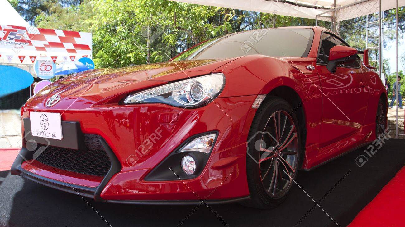 Wonderful PHUKET, THAILAND   JULY 22: Toyota Show Sport Car Toyota 86 At Toyota  Motorsport