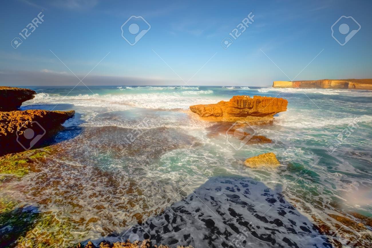 Sherbrooke River Beach In Loch Ard Gorge Of The Port Campbell - World famous river name