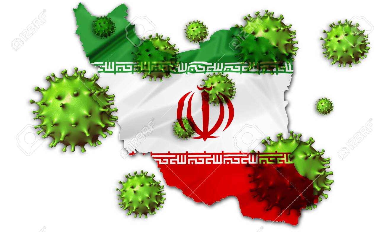 Covid 19 Outbreak Coronavirus 2019 Ncov Virus On Iranian Flag Stock Photo Picture And Royalty Free Image Image 143623662