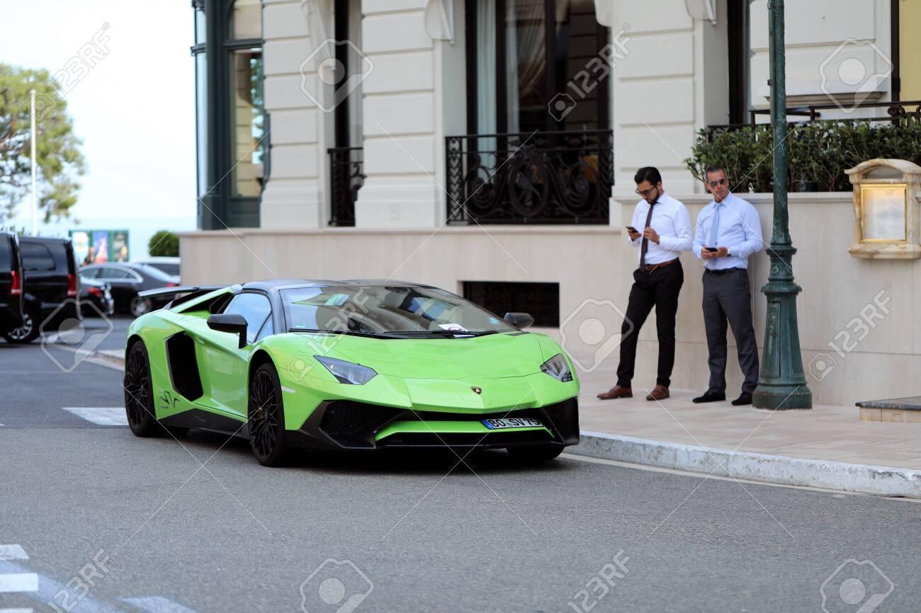 Monte Carlo Monaco June 20 2019 Lamborghini Aventador Lp Stock Photo Picture And Royalty Free Image Image 138399506