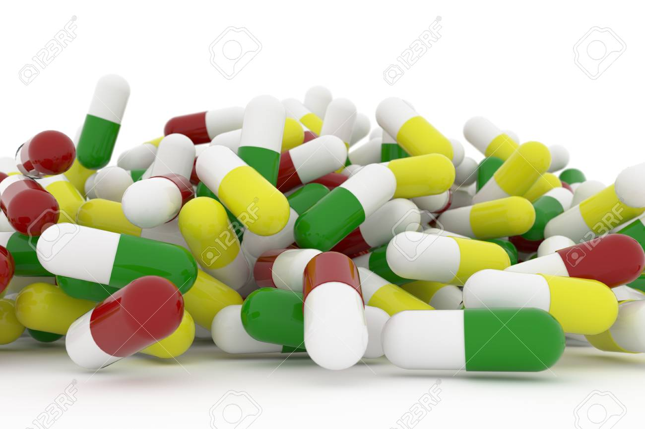 Health Conceptual With Bunch Of Close Up Capsules Medicine Or Stock Photo Picture And Royalty Free Image Image 87441001