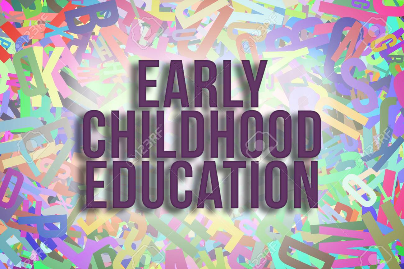 Early Childhood Education Colorful Alphabets Letters From A