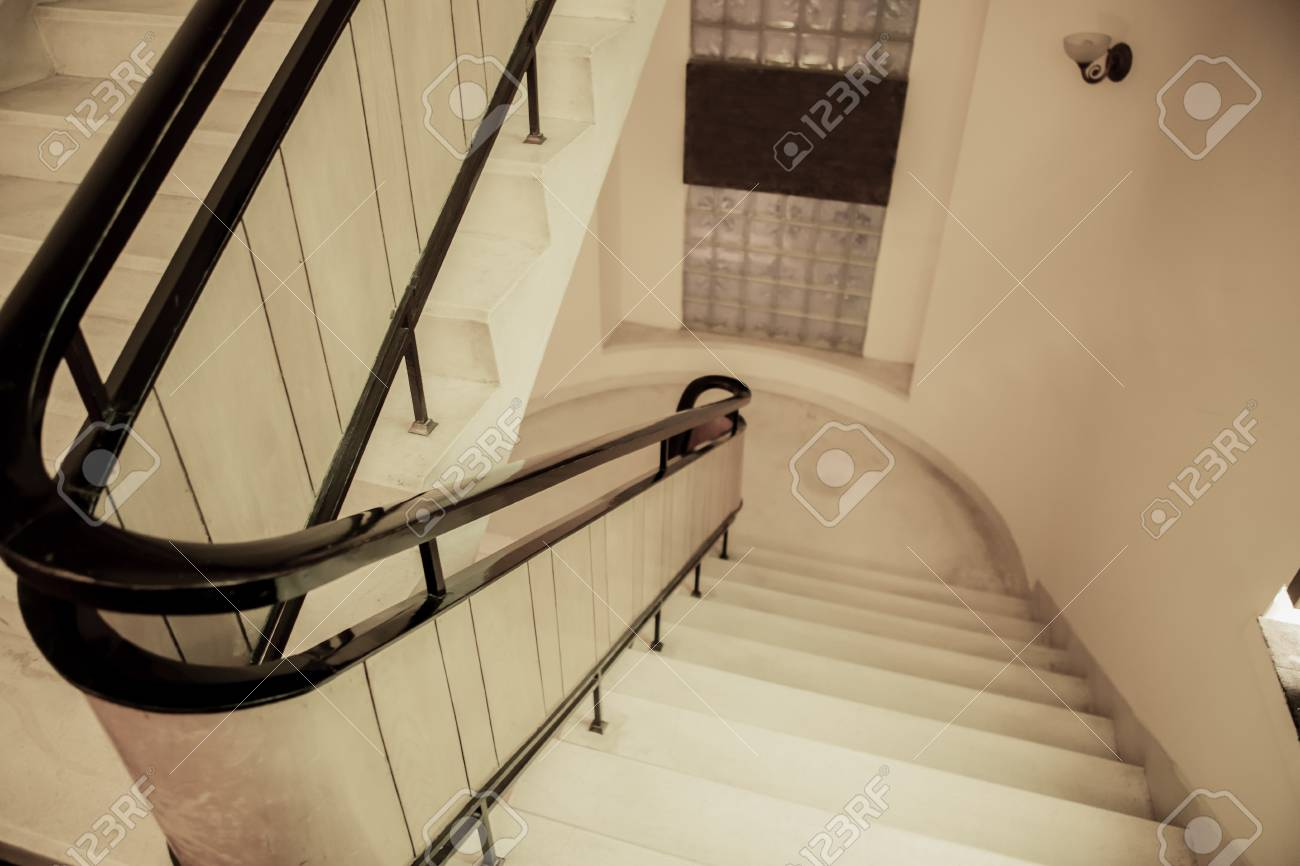 Modern Ladder In The Building Stock Photo Picture And Royalty Free Image Image 100619718