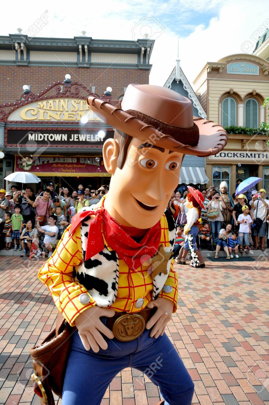 Woody From Toy Story Is The Famous Cartoon From Disney Stock