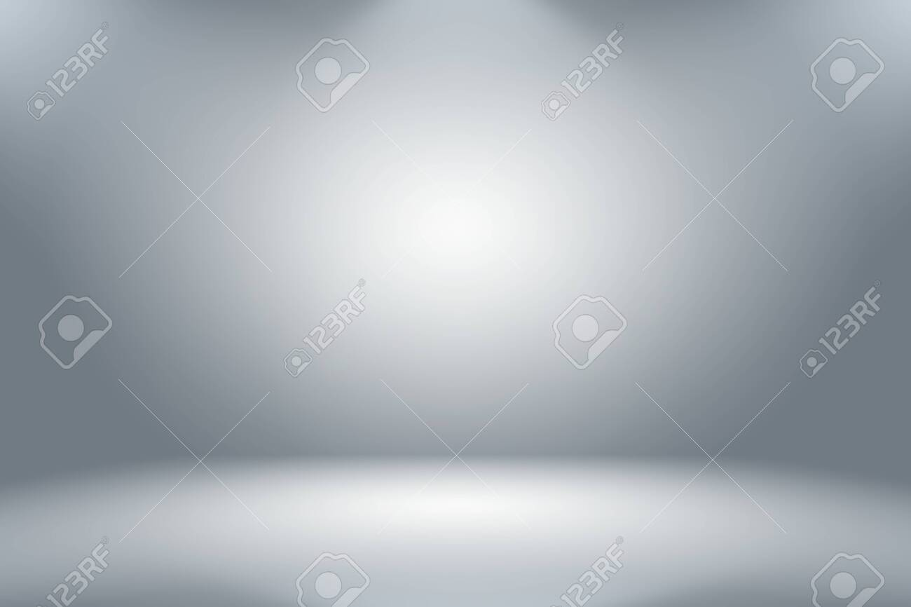 Abstract luxury blur Grey color gradient, used as background studio wall for display your products. - 123276048