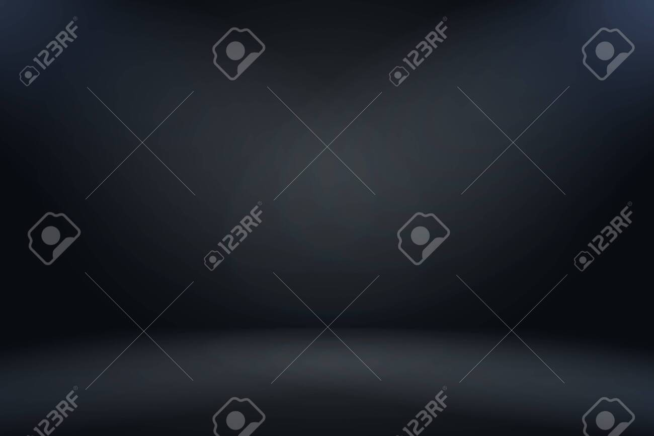 Abstract luxury blur dark grey and black gradient, used as background studio wall for display your products. - 126971584