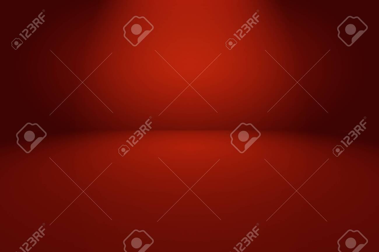 Abstract luxury soft Red background Christmas Valentines layout design,studio,room, web template ,Business report with smooth circle gradient color - 143176251