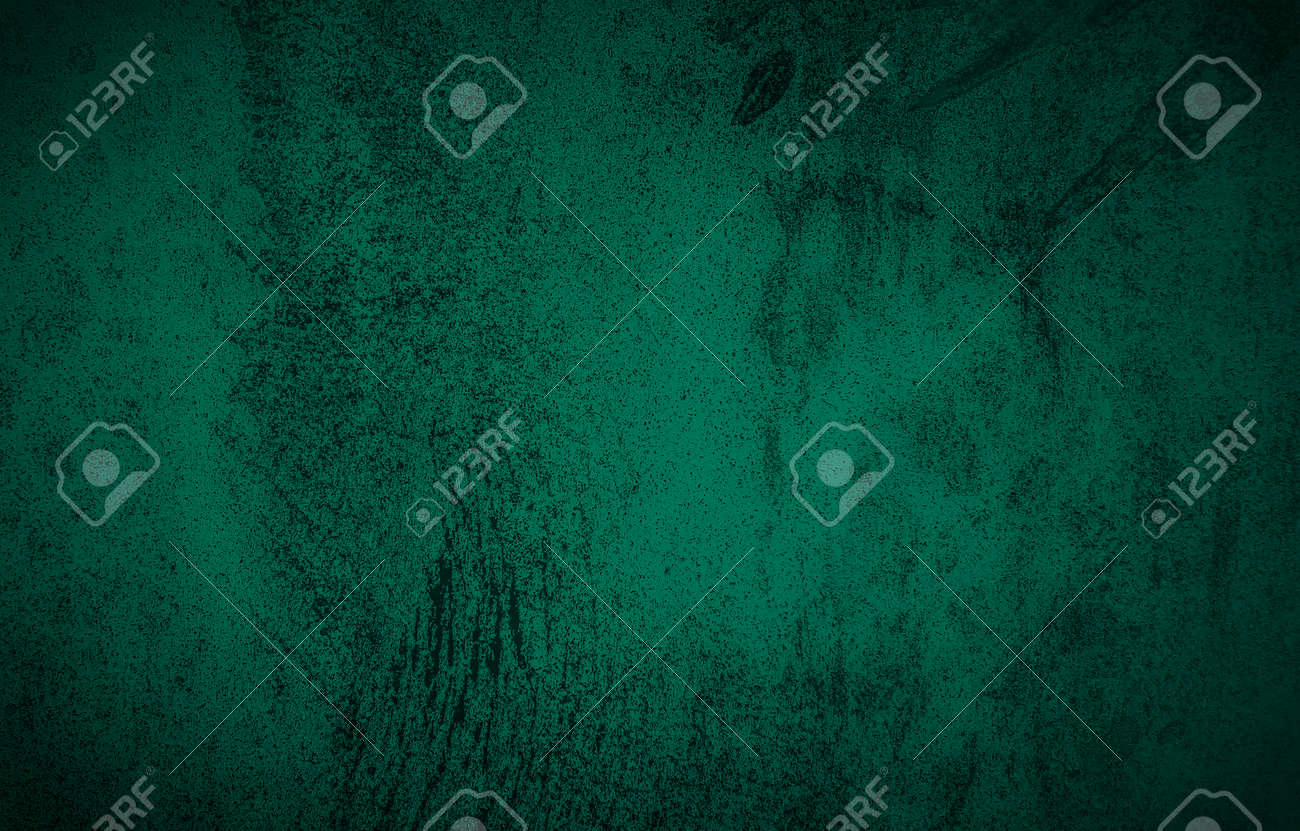 Chalkboard or blackboard green texture. Empty blank with copy space for chalk text. Used feel with chalk traces and great texture. - 165268533