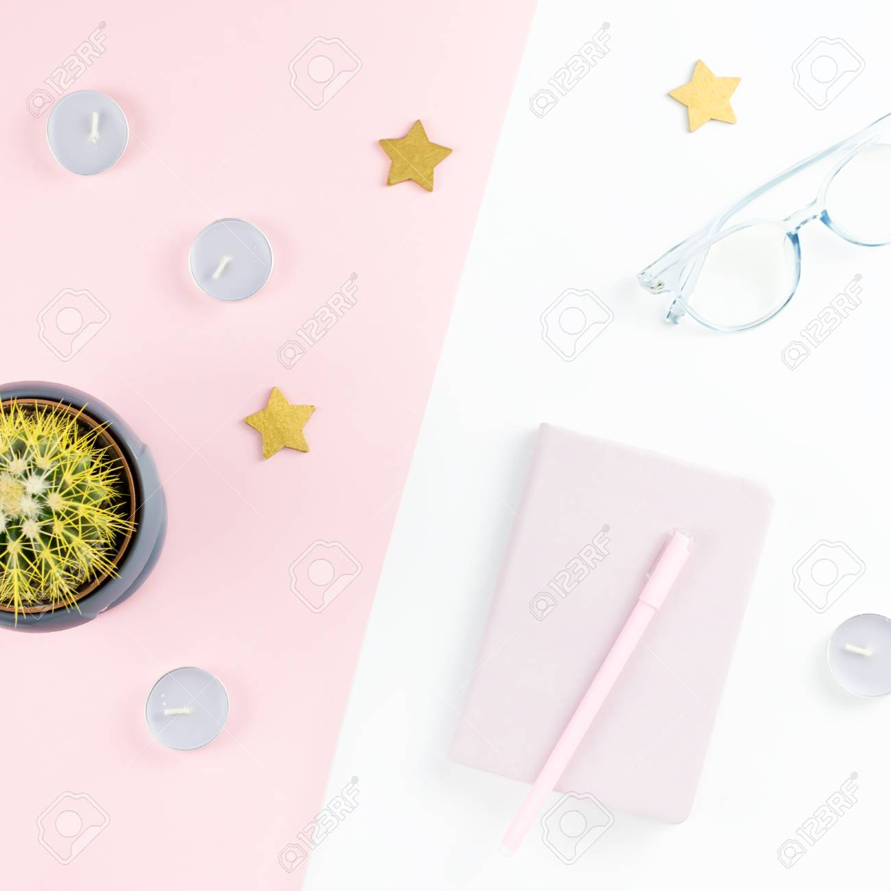 Home Office Planner Wedding Planner Flat Lay Home Office Desk Female Workspace With Planner Eyeglasses Candles Copy 123rfcom Flat Lay Home Office Desk Female Workspace With Planner Eyeglasses