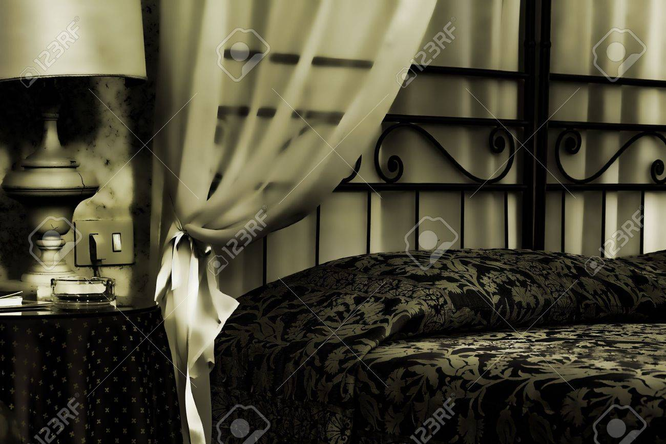 Bed in an albergue room Stock Photo - 9813639
