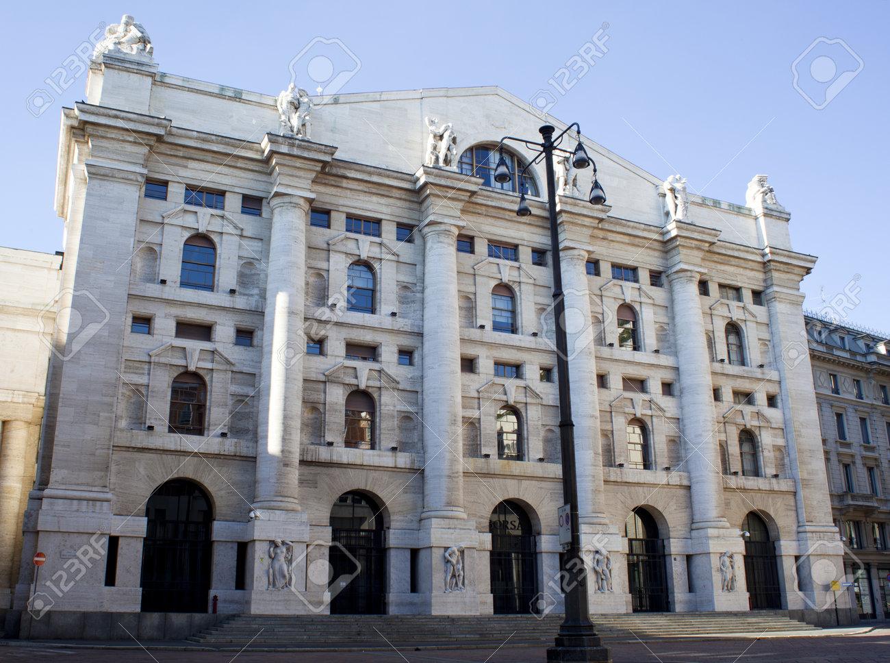 Palazzo della borsa. Exchange building, Milano  Stock Photo - 10004404