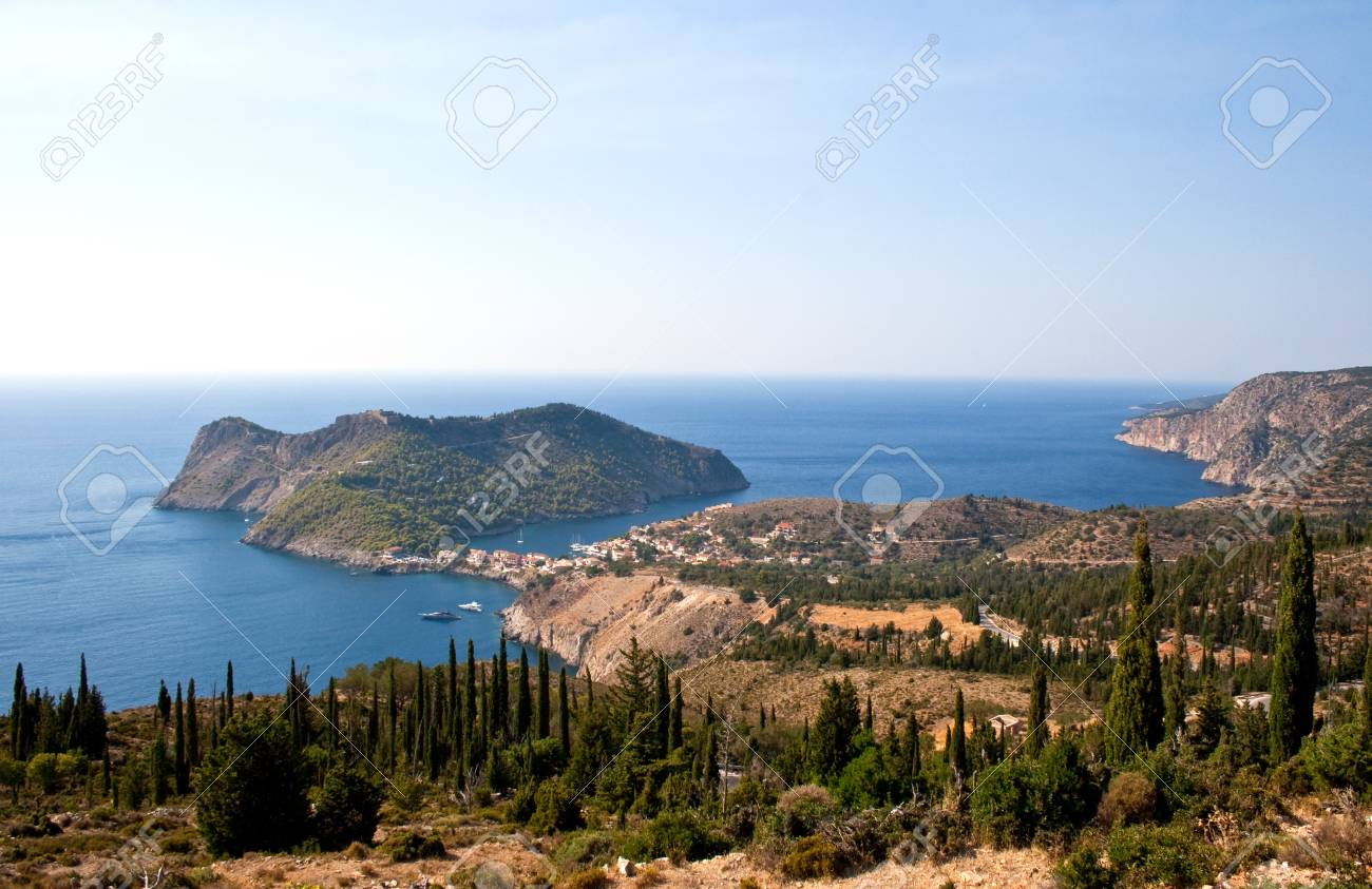 Assos, Kefalonia - Greece Stock Photo - 10265680