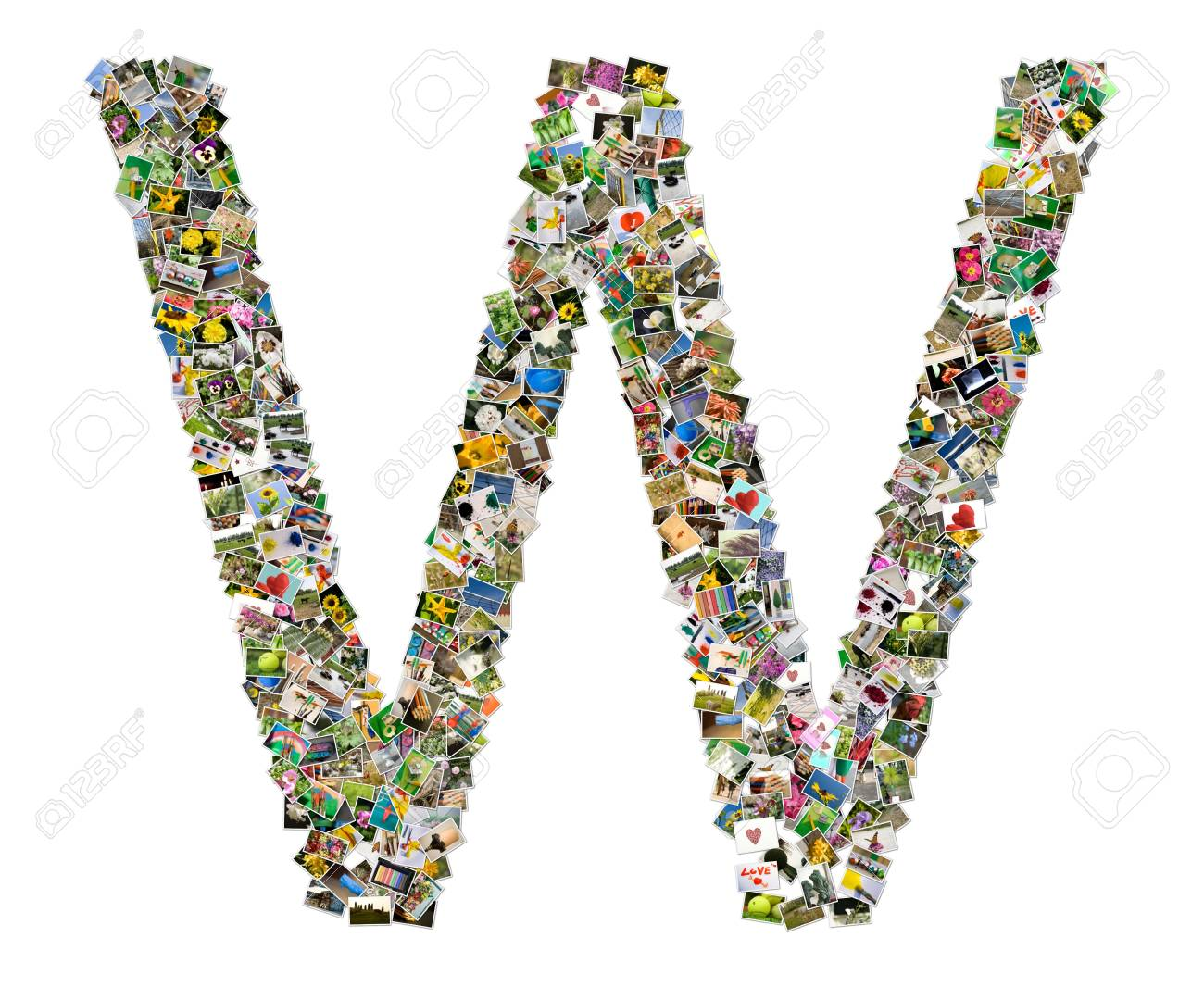 Letter w Stock Photo - 10521481