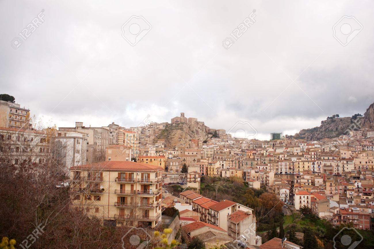 View of Nicosia, Sicily Stock Photo - 10585182