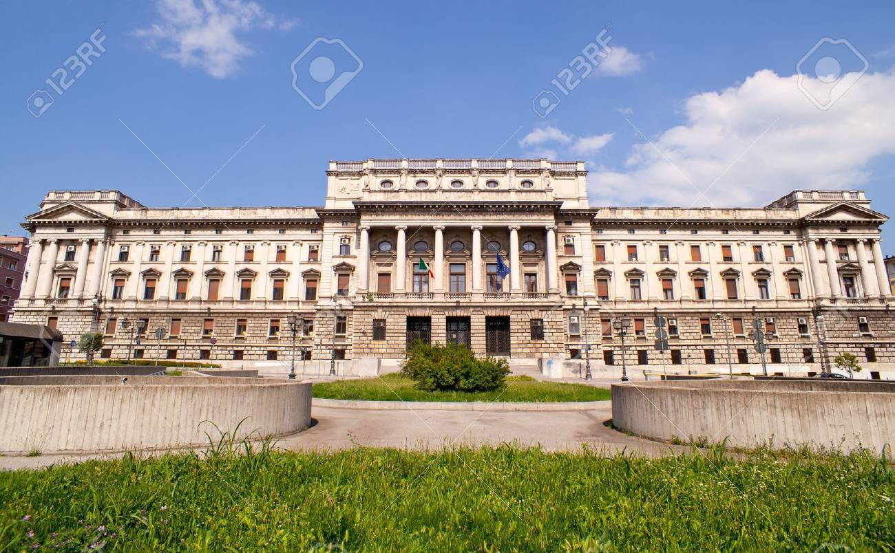View of the courthouse Triste, Italy Stock Photo - 10499566