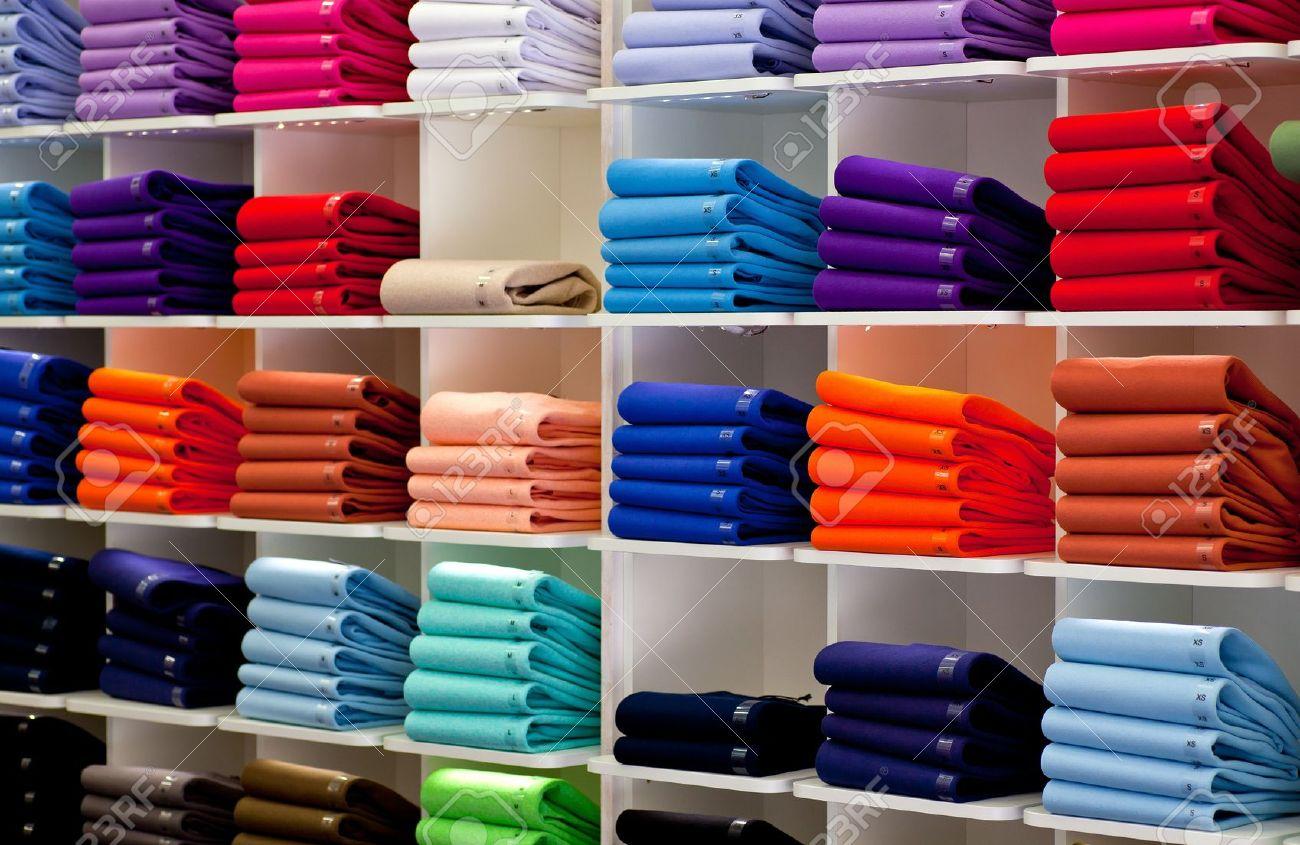 new concept 994cf 58aca Photo of Colorful Polo shirts, clothes shop