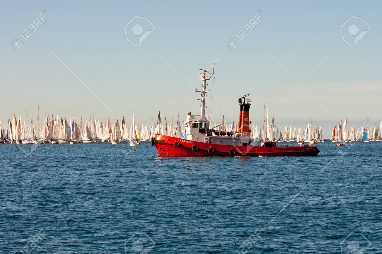 Trieste Barcolana,  2009 - The Trieste regatta  - Italy - http://www.barcolana.it/ Stock Photo - 13916807
