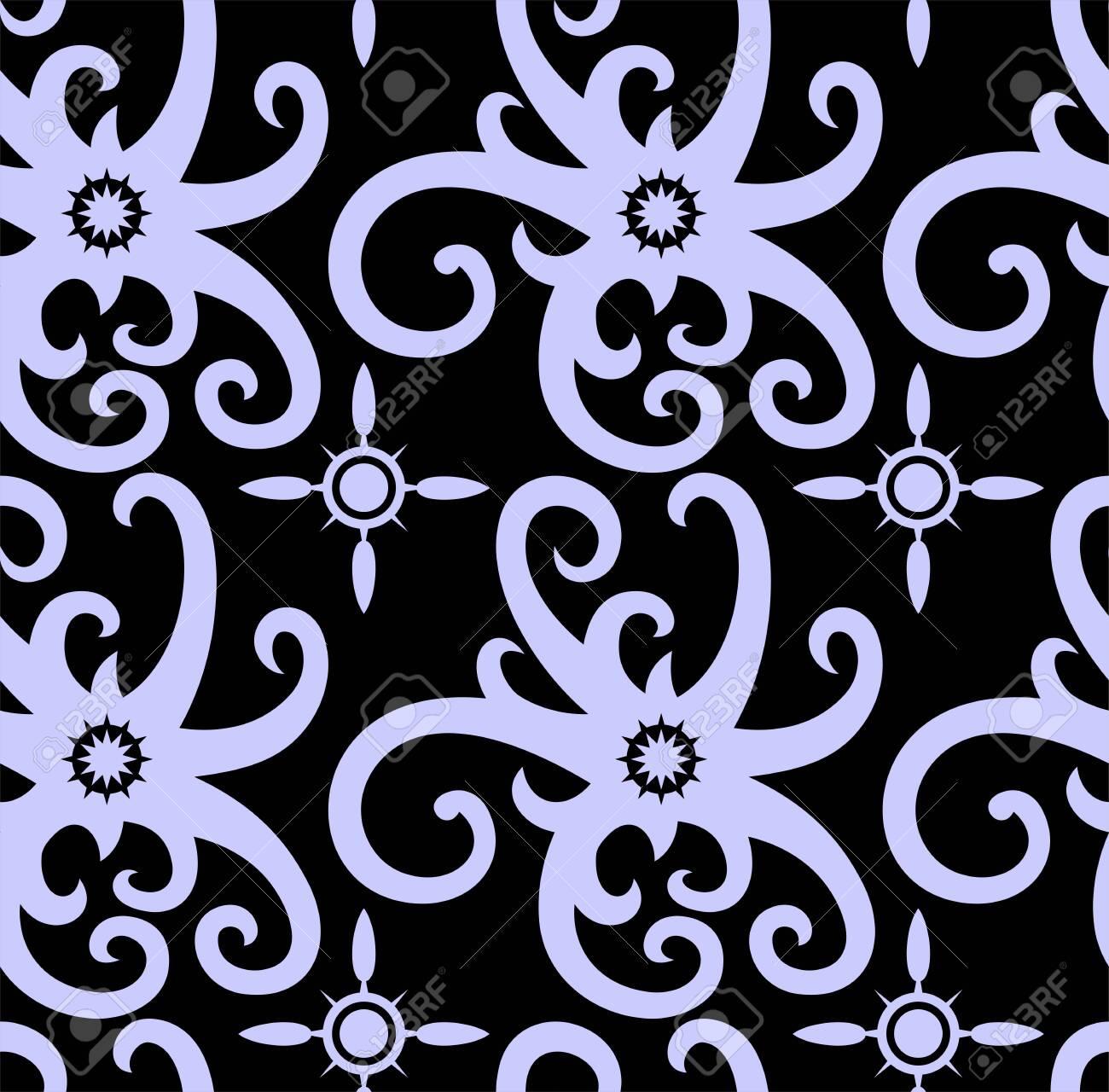 Borneo Dayak Batik Pattern Simple Geometric Pattern Motif