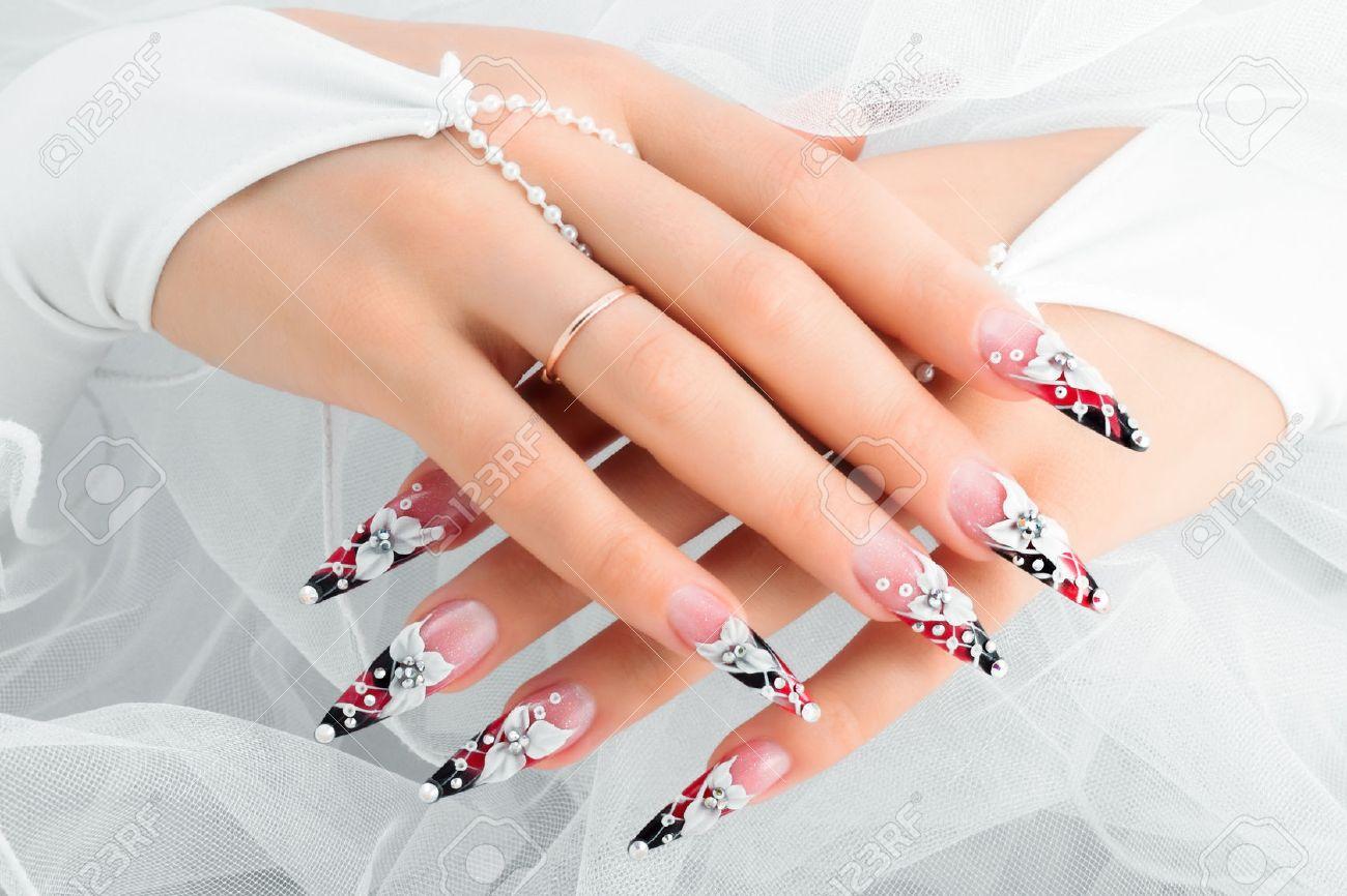 Long Nails Stock Photos. Royalty Free Long Nails Images