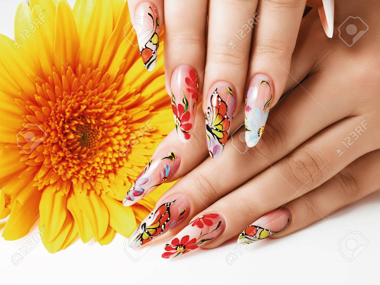 To acquire Nail Summer art collection for girls pictures pictures trends